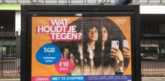 Lebara biedt onbeperkt bellen met 5 GB databundel voor € 10 per maand