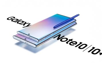 De Galaxy Note10-lijn van Samsung bestaat uit twee formaten: Galaxy Note10 (6,3-inch display) en Galaxy Note10+ (6,8 inch display).