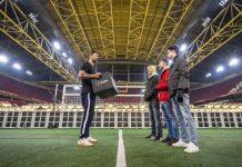 Gamers testen VR-game in Johan Cruijff ArenA op 5G-netwerk van KPN